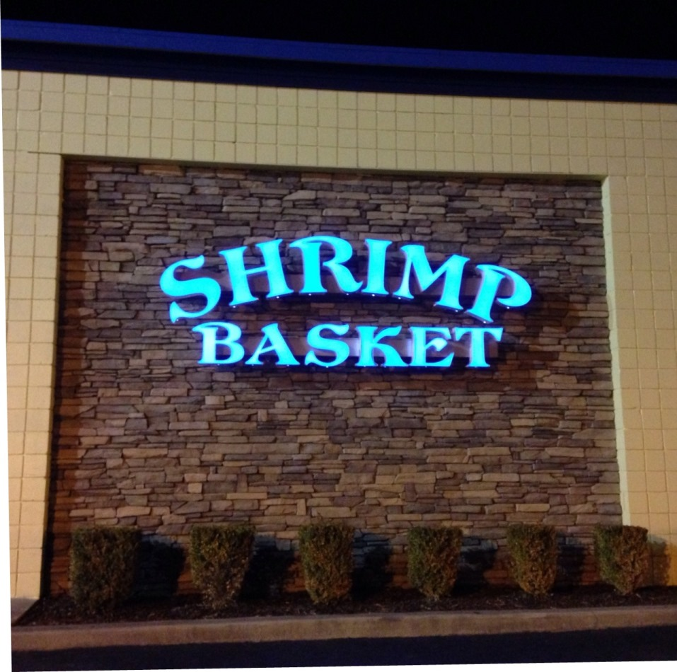 channel letter signs channel letter signs modern signsmodern signs 20810 | Shrimp Basket Channel Letter Sign